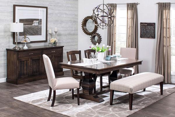 Custom Furniture In Edmonton, Dining Room Sets Edmonton Alberta
