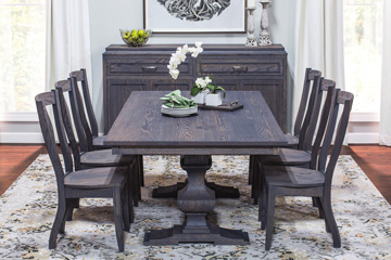 SYO Haley Double Pedestal Table
